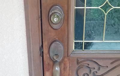 玄関の鍵をWESTのディンプルキーに交換