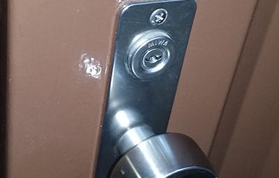 玄関のMIWAの鍵