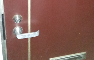開かない玄関のMIWAの鍵