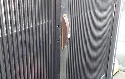 玄関の鍵を美和ロックのPS-SL召し合わせ錠に交換