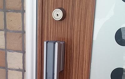 dormakabaのカバエースに取り替えた玄関の鍵