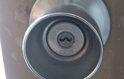 鍵を紛失した玄関のMIWAの鍵交換